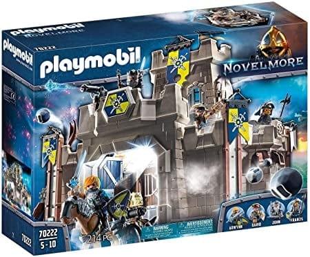 Playmobil 70222 | פליימוביל נובלמור – מבצר האבירים (214 חלקים) רק ב₪376 עד הבית! במקום ₪484