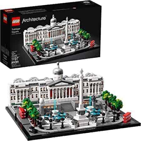 21045 LEGO | לגו ארכיטקטורה – כיכר טרפלגר (1197 חלקים) רק ב₪314 כולל משלוח! במקום ₪441