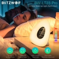 BlitzWolf BW LT23 Pro  – שעון מעורר ליקיצה טבעית – $26.34