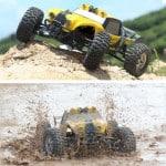 HBX 12891 1/12 4WD 2.4G Waterproof Hydraulic Damper RC Desert Off-Road