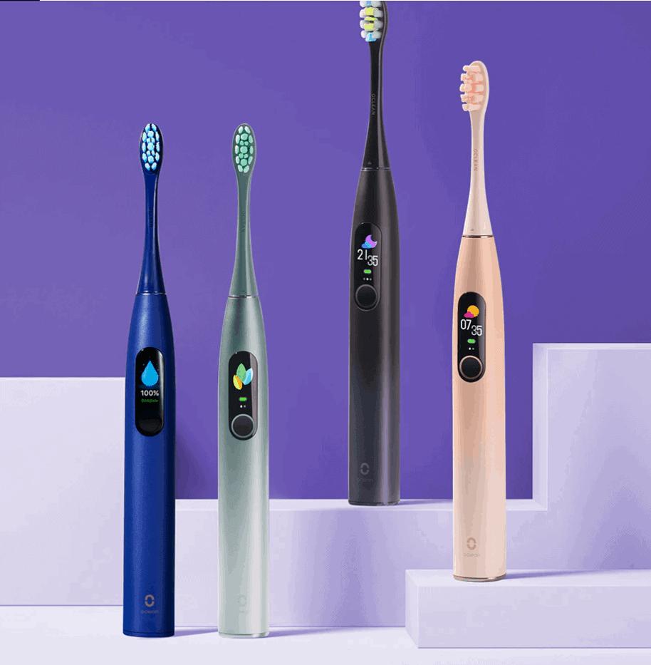 Oclean X Pro – מברשת שיניים סונית – חשמלית – מהטובות והמומלצות ביותר עם מסך משולב במחיר שיביא לכם חיוך!  רק ב$39.99!!!