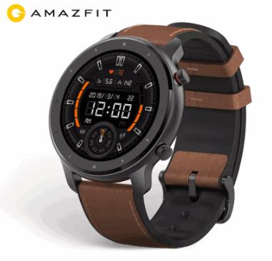 Amazfit GTR 47mm – השעון החכם הכי יפה, עם הסוללה הכי טובה  שגם כולל עברית! גרסא גלובלית רק ב$88.99
