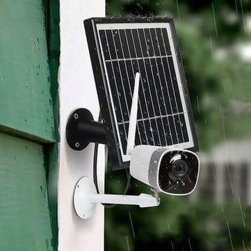 Xiaovv DC05F – מצלמת אבטחה אלחוטית (לחלוטין) עם טעינה סולארית רק ב$49.99!