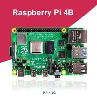 """מחשב/לוח פיתוח Raspberry Pi 4 Model B רק ב$37.66 / 128 ש""""ח!"""