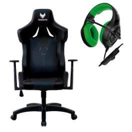 באנדל בלעדי! מושב גיימינג מקצועי GT VIPER SPARKFOX + אוזניות גיימינג SPARKFOX K1 רק ב₪749 כולל משלוח!