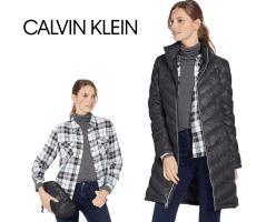 בבוקר קפוא, בצהריים חמסין? בואי להתחדש במעיל מפנק ומתקפל מבית Calvin Klein החל מ₪287 עד הבית!