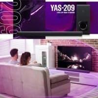 הלהיט חוזר! מקרן קול Yamaha ימאהה YAS-209 – מהמומלצים בעולם רק ב₪1,379 (בזאפ 2,020 – 1,849 ₪)