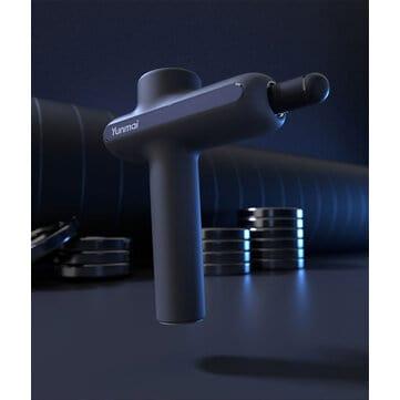 Yunmai – אקדח מסאג' חשמלי עם 3200 סיבובים לדקה, 4 ראשים, עוזר מאוד לכאבים בכלל שרירי הגוף