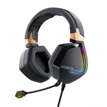 BlitzWolf® BW-GH2 – אוזניות גיימינג חדשות עם 7.1 ערוצים, USB,RGB, ב$29.99