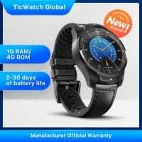 TicWatch Pro 2020 – שעון חכם עם 2 מסכים וANDROID WEAR! רק ב₪572! (בזאפ ₪999)