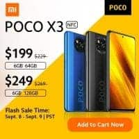 POCO X3 NFC 128GB רק ב$222.41!
