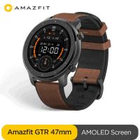 Amazfit GTR 47mm – השעון החכם הכי יפה, עם הסוללה הכי טובה  שגם כולל עברית! גרסא גלובלית רק ב$76.08!!!