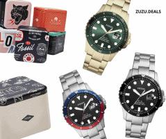שעון יד FOSSIL FB-01 לגבר רק ב₪212 כולל משלוח!