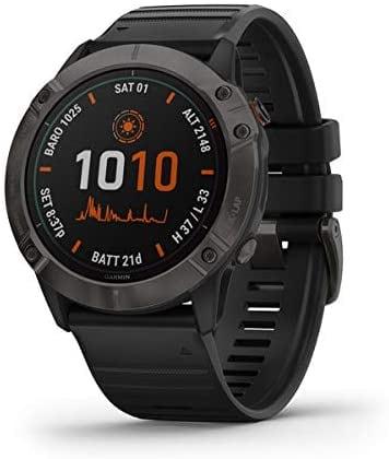 שעון ספורט חכם – Garmin Fenix 6X Pro Solar רק ב₪3531 (בזאפ 5,100 – 4,000 ₪)
