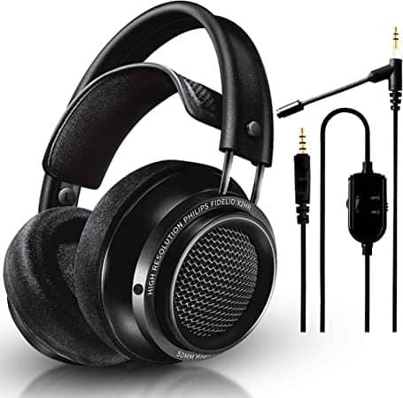 """באנדל שווה! Philips Audio Fidelio X2HR + מיקרופון NeeGo – מהאוזניות המומלצות ברשת במחיר מעולה! רק ב686 ש""""ח!"""