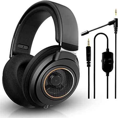 """אוזניות משובחות בבאנדל שווה! Philips SHP9600 + מיקרופון NeeGo רק ב535 ש""""ח!"""