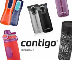 עד 45% הנחה על בקבוקי וספלי Contigo לכל המשפחה!