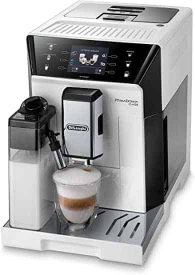 """מכונת קפה מקצועית De'Longhi PrimaDonna Class ECAM 556.55.W בדיל היום! רק ב3,394 ש""""ח"""