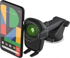 """מעמד רכב עם טעינה אלחוטית (דור 2!) – iOttie Easy One Touch Wireless 2 Qi רק ב176 ש""""ח!"""