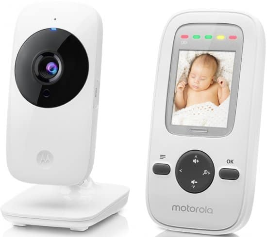 """מוניטור לתינוק ומסך 2"""" Motorola MBP481 ב₪289 בלבד!"""