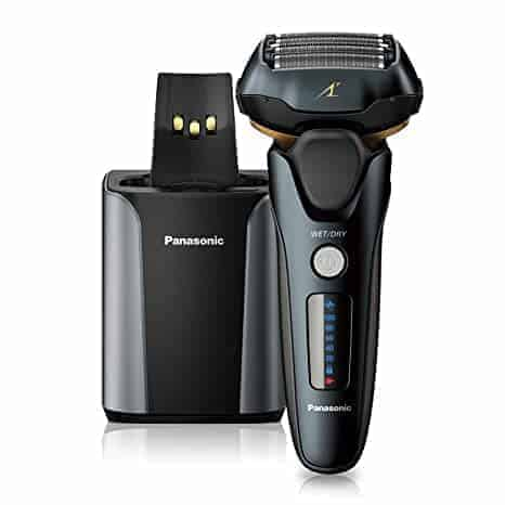 "Panasonic ARC5 ES-LV97-K ממכונות הגילוח הטובות והמומלצות בעולם! הדגם המתקדם עם עמדת שטיפה וטעינה אוטומטית – רק ב670 ש""ח!"