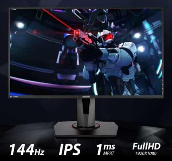 """מסך מחשב גיימינג Asus VG279Q """"27 LED IPS 144HZ ב₪1399"""