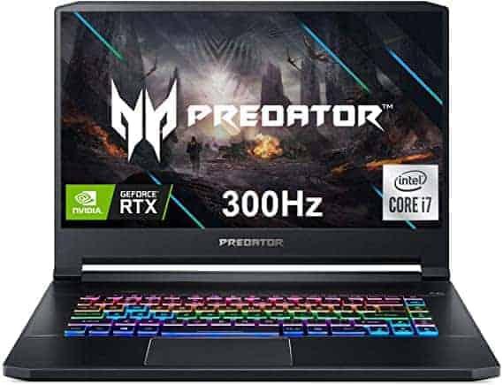 מחשב נייד חזזזזזק בצלילת מחיר! – Acer Predator Triton 500 עם CORE I7, 16GB/512GB, RTX2070 SUPE ומסך 300HZ! רק ב₪5,786 במקום כ₪10,000