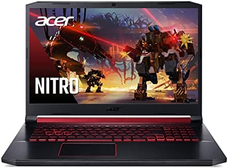 "מחשב נייד גיימינג Acer Nitro 5 – עם CORE I7, RTX 2060, מסך 17.3"" 144HZ רק ב₪4,045"