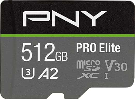 כרטיס זיכרון מהיר בנפח ענק ללא מס! PNY 512GB PRO Elite רק ב₪279 כולל משלוח!