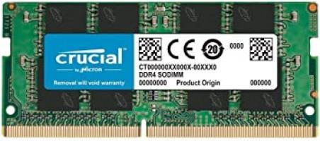 שדרגו את הלפטופ! Crucial RAM 16GB DDR4 2666 MHz – סטיק הראם הכי פופלארי בצלילת מחיר!