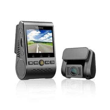מצלמת הרכב המומלצת Viofo a129 Duo עם מצלמה אחורית וGPS ב$129.99