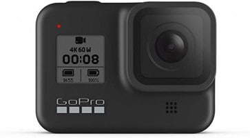מצלמת אקשן GoPro HERO8 Black רק ב₪992!