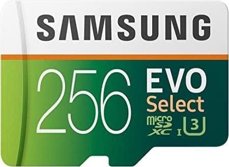 כרטיס הזיכרון הכי מומלץ Samsung EVO Select נפח 256GB בצניחת מחיר – רק ב₪109