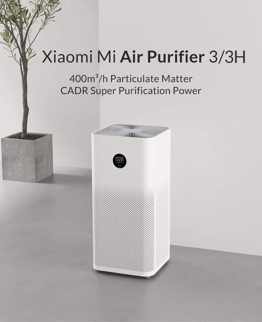 נושמים לרווחה! מטהר האוויר של שיאומי – Mi Air Purifier 3H רק ב₪599!