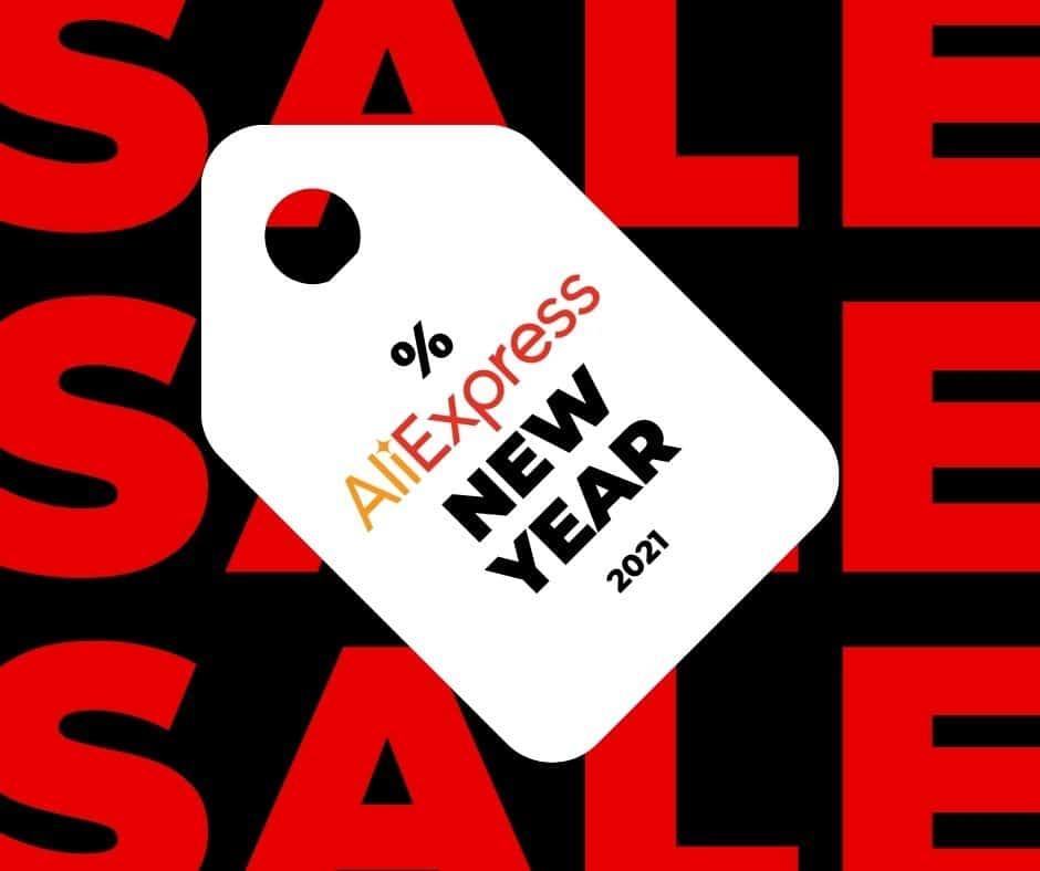 ALIEXPRESS NEW YEAR SALE!