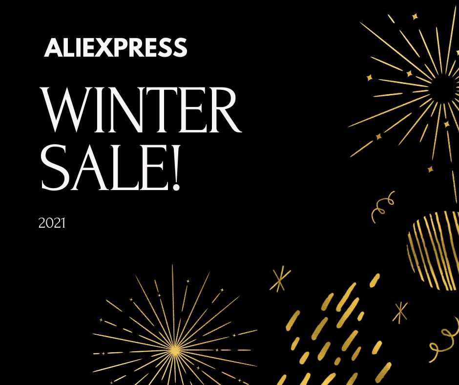 סייל החורף של ALIEXPRESS! *קופונים עודכנו!*