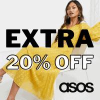 אקסטרה 20% הנחה על הSALE (עד 80%!) הנחה בASOS!