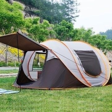 """IPRee® PopUp Tent – אוהל פתיחה מהירה ל5-8 אנשים רק ב196 ש""""ח כולל משלוח!"""