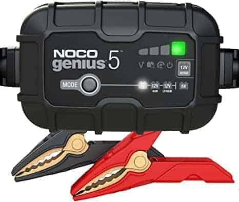 כבר לא זוכרים מתי התנעתם פעם אחרונה? NOCO GENIUS5 – מטען המצברים החכם והמבוקש –  רק ב70.93 / ₪231! (בזאפ ₪462)