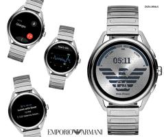 שעון חכם Emporio Armani עם Wear OS רק ב₪994 במקום ₪1,899!