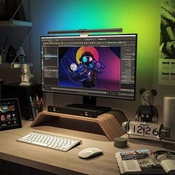 תוסיפו קצת צבע לשולחן! YEELIGHT YLTD001/YLTD003 RGB Screenbar החל מ$49.59