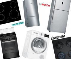 מכונות כביסה, מקררים, כיריים ותנורים מבית BOSCH, Siemens, Constructa – באקסטרה 5% הנחת קופון!