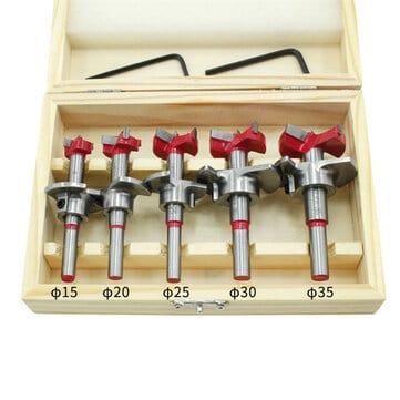סט מקדחים מקצועיים לעבודות עץ כמו כירסום עבור צירים וכו, ב12.78$!