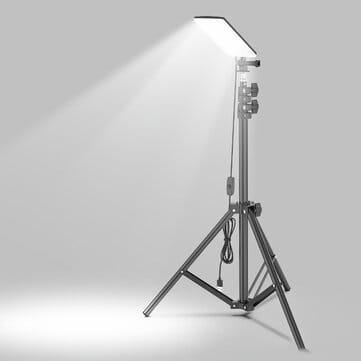 תאורה חזקה על חצובה, מעולה לקמפינג (בשילוב powerbank) או לצלמים. 19$