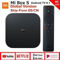 Xiaomi Mi Box S – ה-סטרימר הכי טוב והכי משתלם! תומך סלקום TV, נטפליקס 4K, סטינג TV רק ב $54.99!