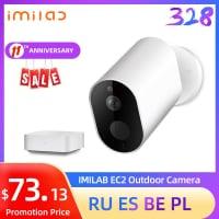 מצלמת אבטחה נטענת ואלחוטית לחלוטין של שיאומי – Xiaomi Mijia IMILAB EC2 כולל HUB רק ב $59.99!