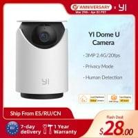 מצלמת רשת / אבטחה – YI Dome U Camera רק ב26$!