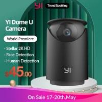 מצלמת אבטחה ביתית YI Dome U Pro ברזולוציית 2K רק ב$39