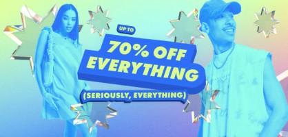 עד 70% הנחה בASOS! כל האתר! (וגם קופון 30% לחשבונות חדשים!)